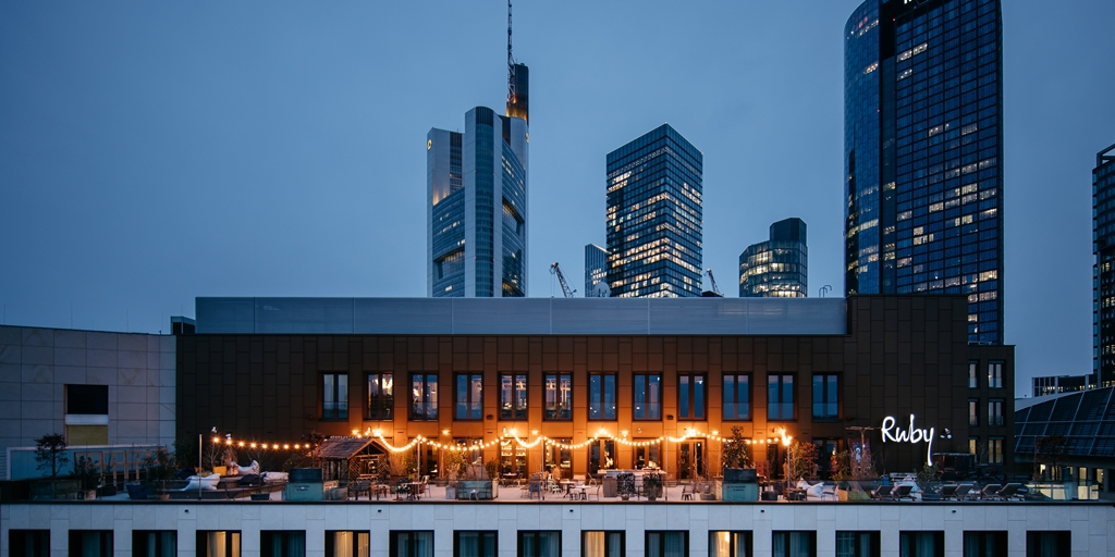 Ruby Hotels enters Frankfurt with stylish 215-room opening
