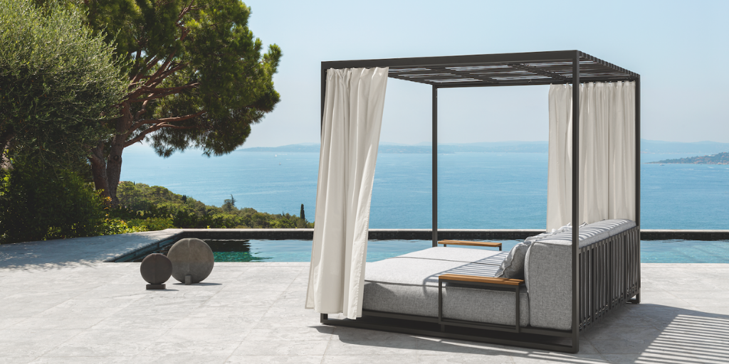 Elegance and relaxation with the new Casilda Daybed signed by Ramon Esteve for Talenti