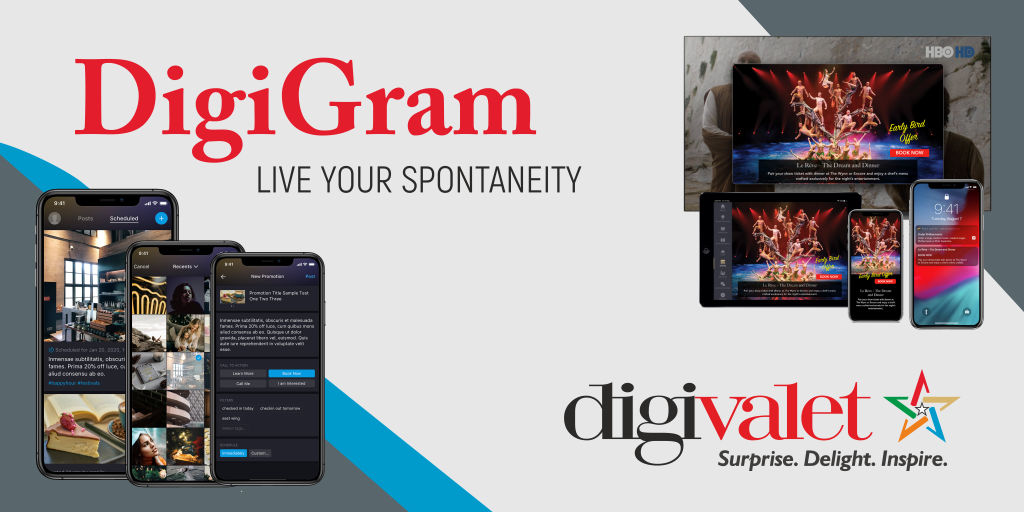 DigiGram – a promotional tool that complements the DigiValet solution
