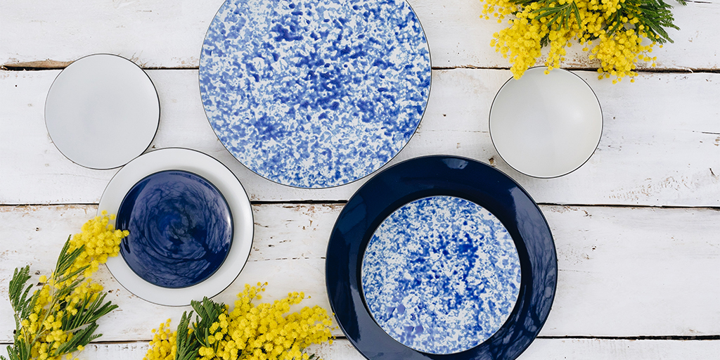 Equinoxe Collector's Edition, inspiring nature elements allied with research in glazes, colours and textures