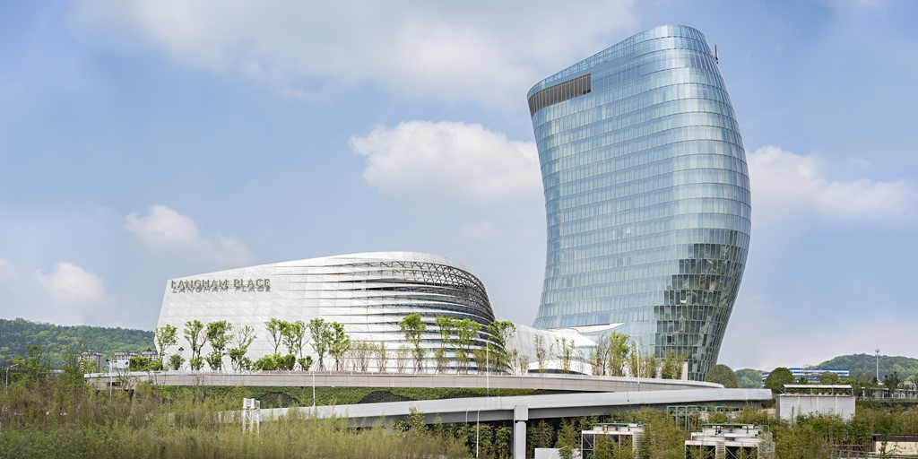 Cutting-edge Langham Place hotel opens in Changsha