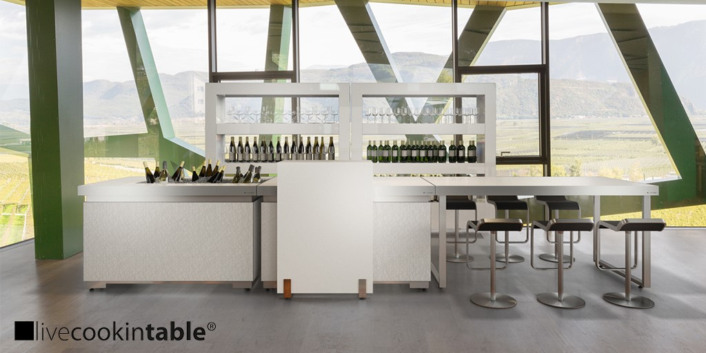 What clients are currently looking for in modular F&B equipment, told by the livecookintable team