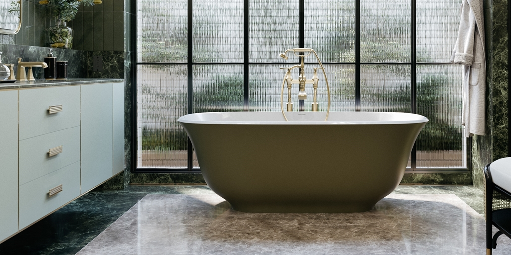 Adding a touch of luxury to smaller bathrooms