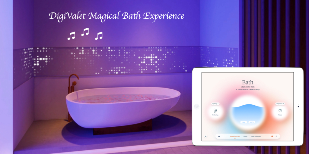 Perfect bath experience – orchestrated by DigiValet