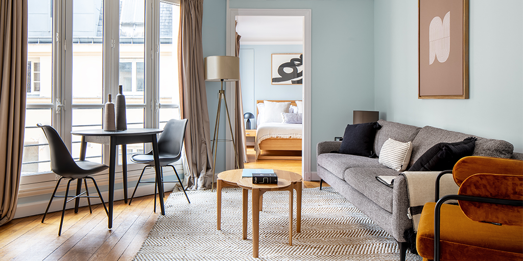 Sofacompany delivers furniture to international apartment concept