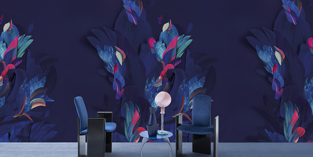 Wall&decò – a creative vision in which wallpaper becomes a leading protagonist of contemporary living