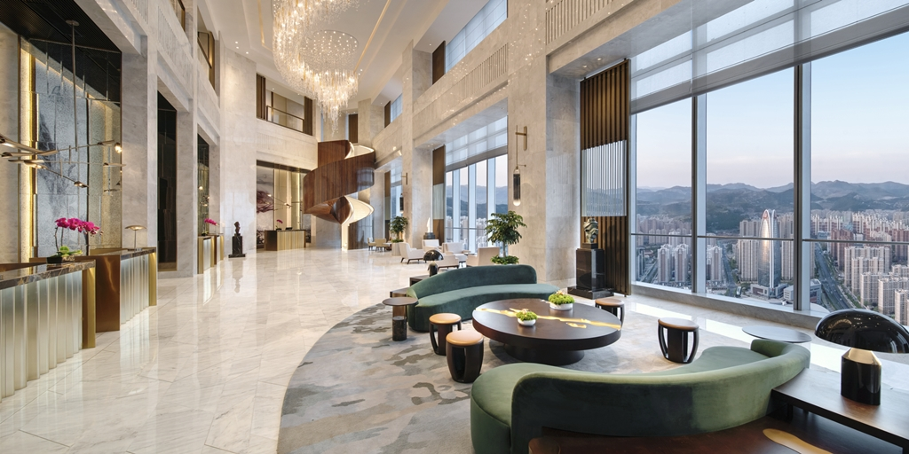 Kempinski hotel opens in China's 'City of Springs'