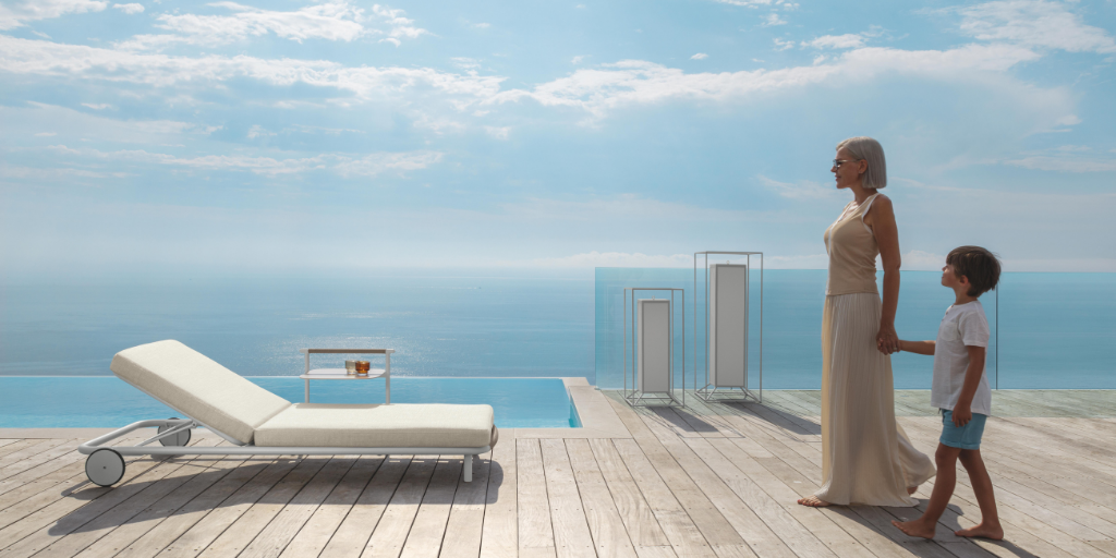 Interlacements of elegance for the outdoor, Talenti presents the Coral collection, designed by Marco Acerbis