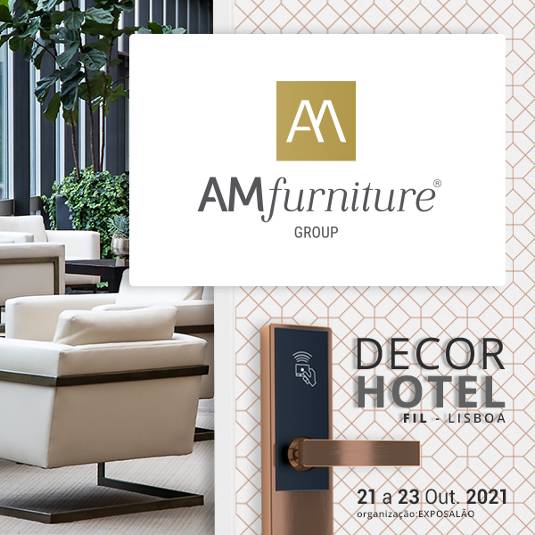 AMfurniture Group to participate in DECORHOTEL in Lisbon next fall
