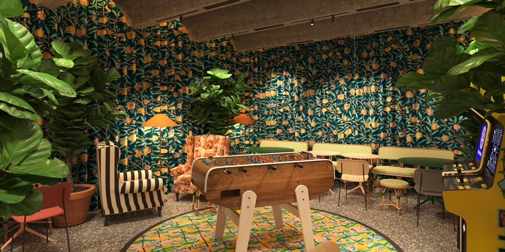 Mama Shelter brings its playful spirit to Rome