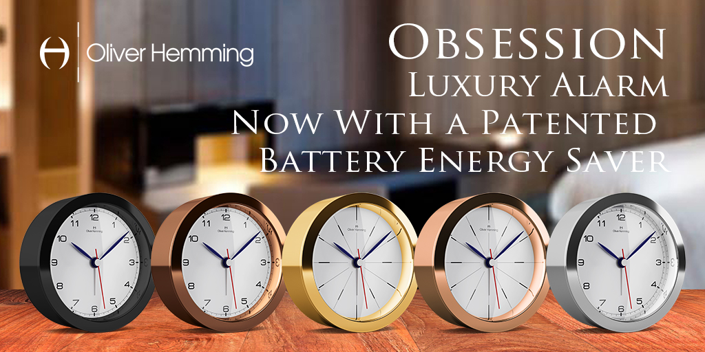 Oliver Hemming: Introducing the best-in-class Obsession alarm clock