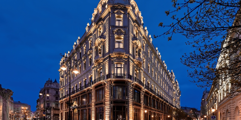 The regal Matild Palace opens in Budapest