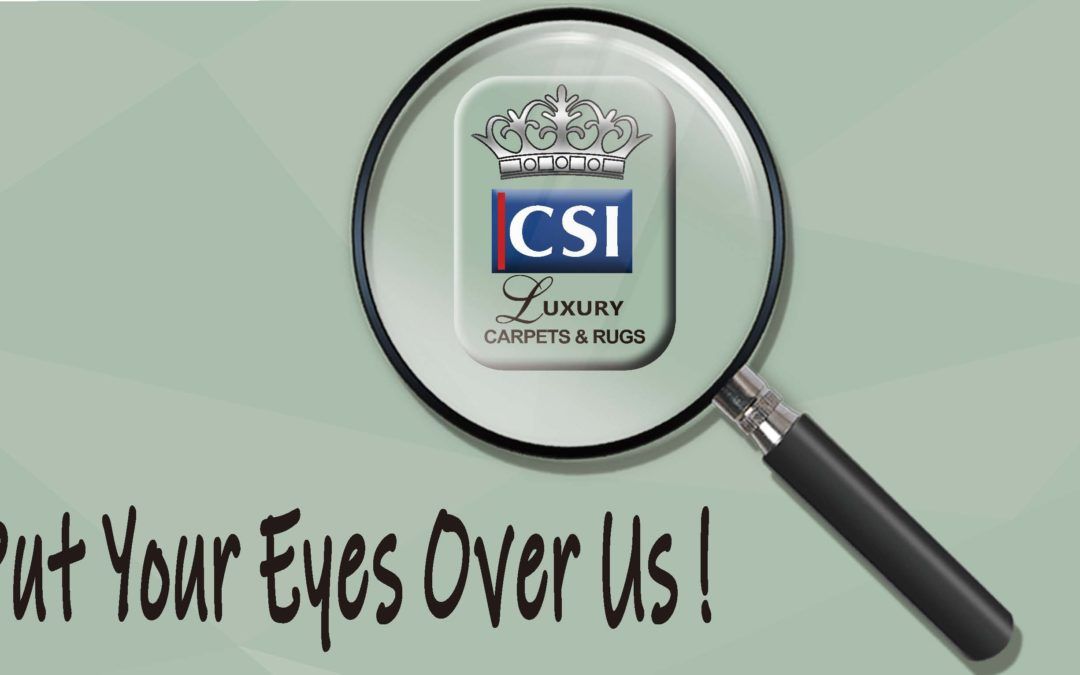 Put your eyes over CSI carpets and rugs