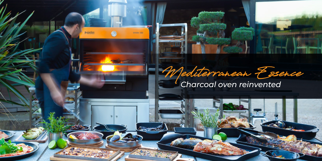 Mediterranean Essence – charcoal oven reinvented by Andy Mannhart