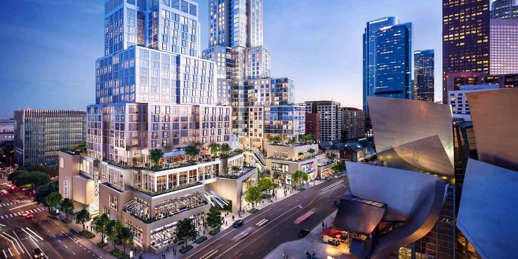 Conrad signs its first hotel in California