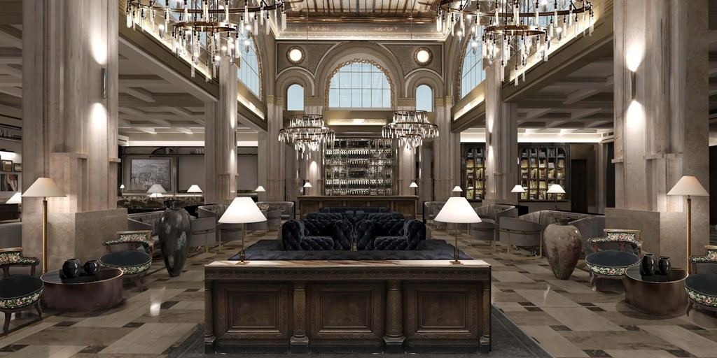 €42m investment transforms Bucharest bank into opulent hotel