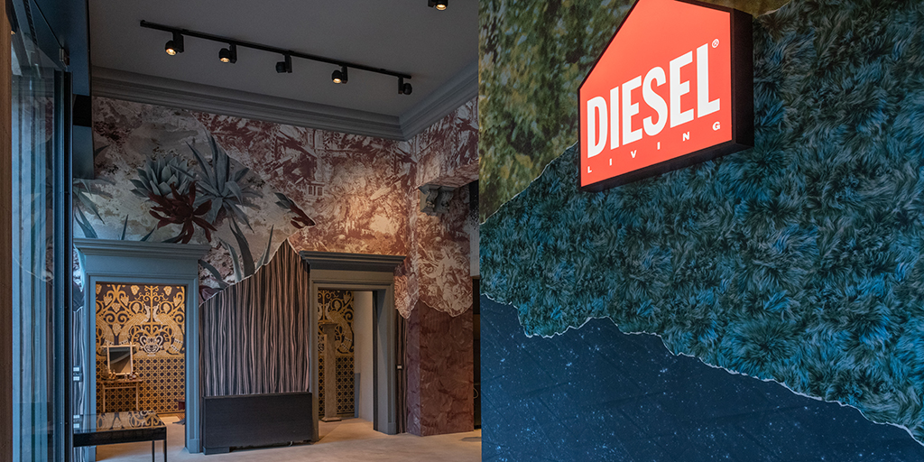 NEW Diesel Living with Wall&decò Collection